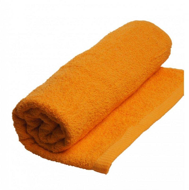 Ręczniki, ręcznik jednobarwny MODENA  rozmiar 50x100 wz. pomarańcz