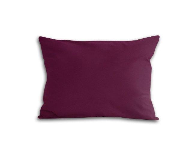 Poszewka na poduszkę 70x80 - 100% bawełna satynowa DARYMEX, zapięcie na zamek wz. fiolet 361