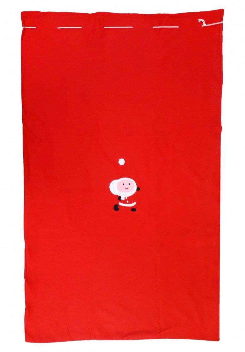 Worki na prezenty, worek Świętego Mikołaja roz. 150x100 wz.1