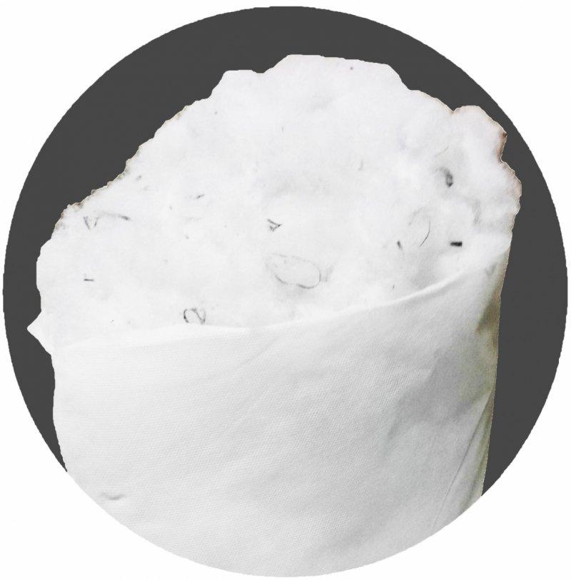 Wypełnienie poduszek II gat włókno poliester 0,5kg