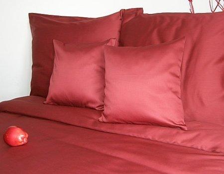Poszewki na poduszki 70x80 - bawełna andropol wz. bordo