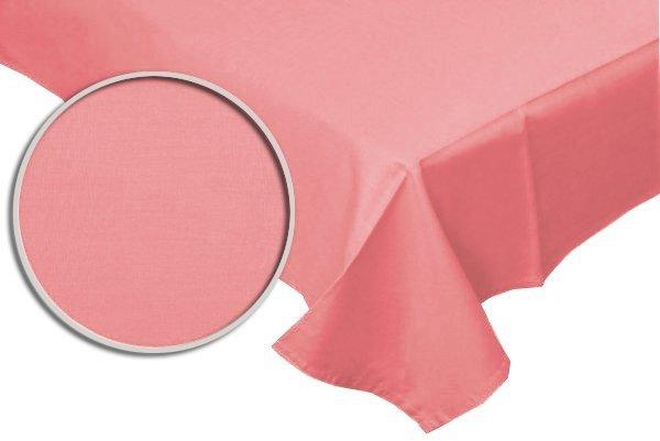 Prześcieradło RUBIN 100% bawełna 160x200 bez gumki wz. róż