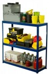 Metallregal Werkstatt Schwerlastregal Helios 106x120x30_3 Böden, Tragkraft bis 400 Kg pro Boden,  Viele Farben zur Auswahl