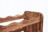 Weinregal Holz 91 Flaschen, RW-16-91 (72,2x26,5x172,4), Dunkelgrau, Ecru, Dunkelgrau Decor, Dunkelbraun Decor