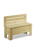 Holzkiste B-12 , unbehandelt oder geölt