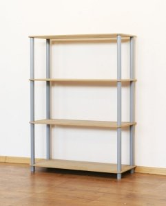 Dedal-4M 108x60x33 cm / 4 Böden / 5 Farben zur Auswahl