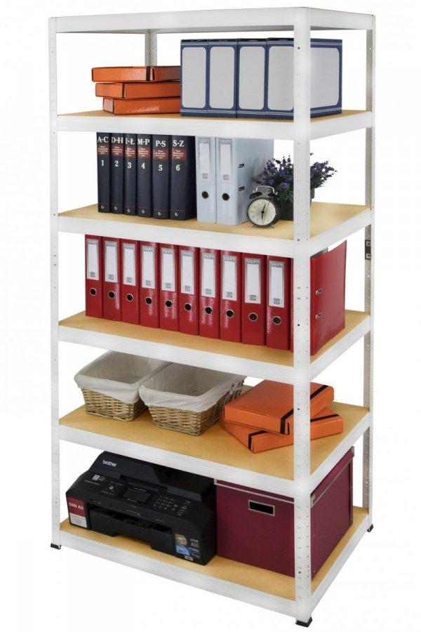 Metallregal Werkstatt Schwerlastregal Helios 213x110x40_6 Böden, Tragkraft bis 400 Kg pro Boden,  Viele Farben zur Auswahl