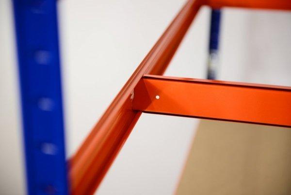 Metallregal Werkstatt Schwerlastregal Helios 196x120x40_5 Böden, Tragkraft bis 400 Kg pro Boden,  Viele Farben zur Auswahl