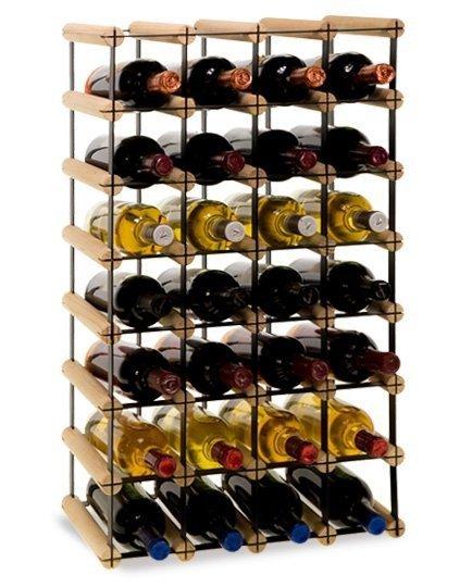 Weinregal, mehreren Varianten für 4 bis 36 Flaschen Serie RW-8-4, Preise ab: