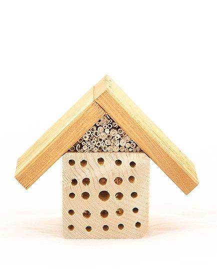 Insektenhotel Insektenhaus Insekten  Bienen Hotel HMK-Serie, 14x17 cm