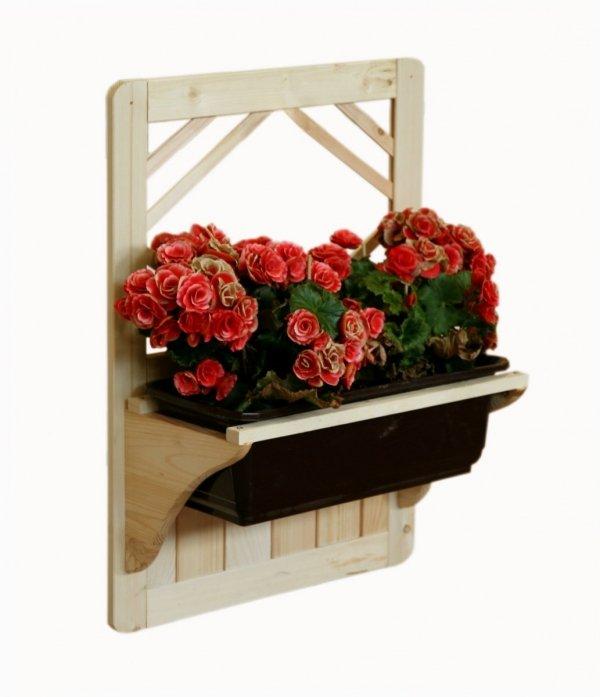 Blumenkasten aus Holz RP-06, 60x40x20