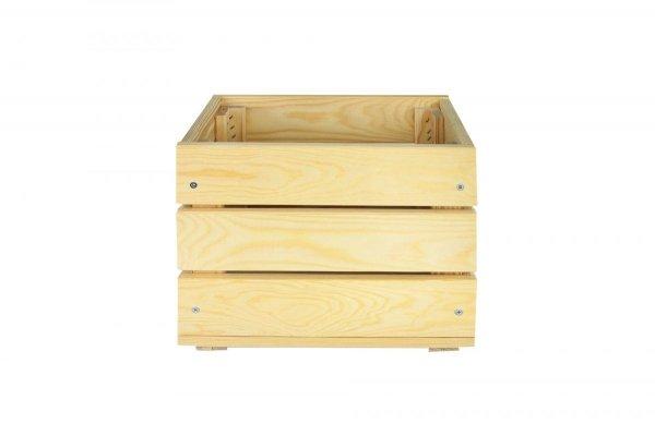SET Holzkisten SD-3-30x20 im 4-er Set in einer Größe, unbehandelt oder geölt