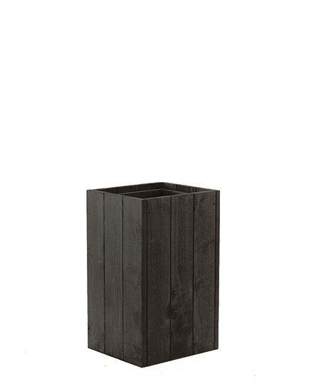 Blumenkübel aus Holz Serie RD-1-50, 50x27x31 cm