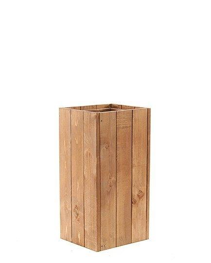 Blumenkübel aus Holz Serie RD-1-60, 60x27x31 cm