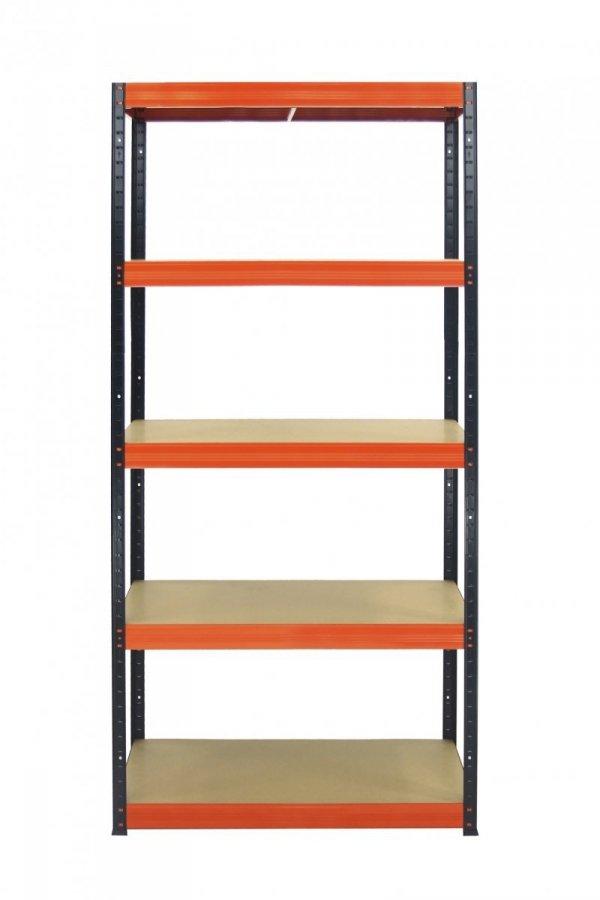 Metallregal Werkstatt Schwerlastregal Helios 196x100x45_5 Böden, Tragkraft bis 400 Kg pro Boden,  Viele Farben zur Auswahl