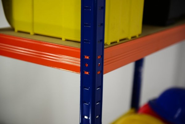 Metallregal Werkstatt Schwerlastregal Helios 196x100x40_6 Böden, Tragkraft bis 400 Kg pro Boden,  Viele Farben zur Auswahl