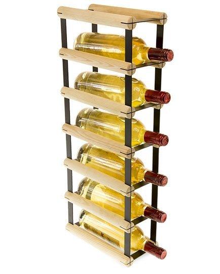 Weinregal mehreren Varianten für 1 bis 9 Flaschen Serie RW-8-1 , Preise ab: