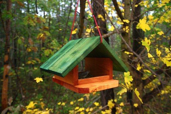 Vogelhäuschen, Holzhäuschen, K-11, 19x30,4x29