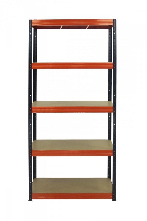 Metallregal Werkstatt Schwerlastregal  bunt farbig  Helios 213x120x30 5 Stabil