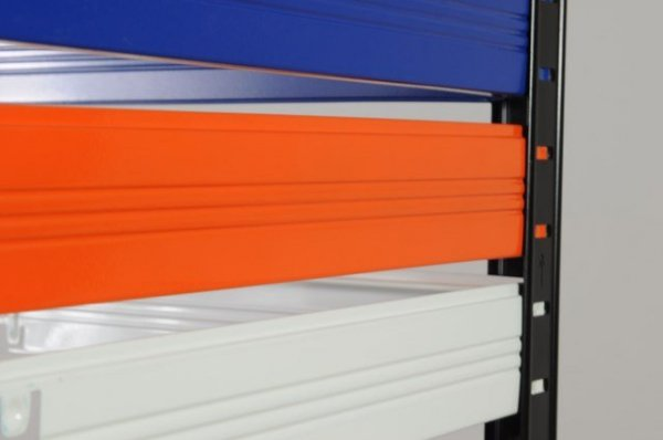 Metallregal Werkstatt Schwerlastregal Helios 180x120x35_5 Böden, Tragkraft bis 400 Kg pro Boden, Viele Farben zur Auswahl