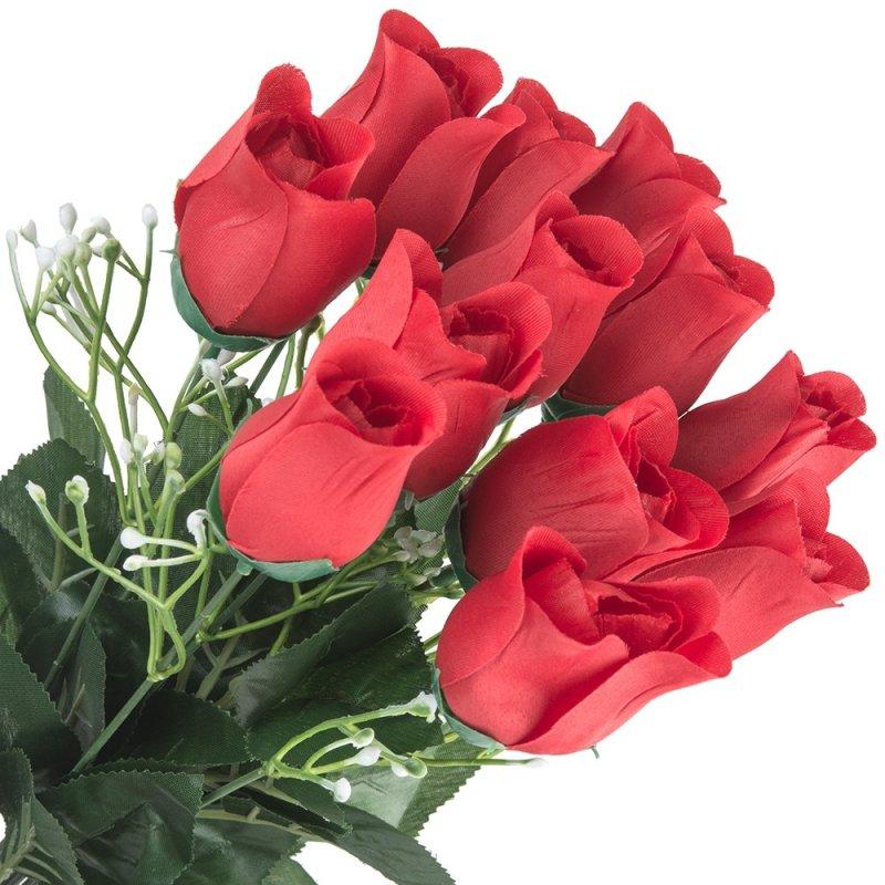 Bukiet Róże 12 Czerwony
