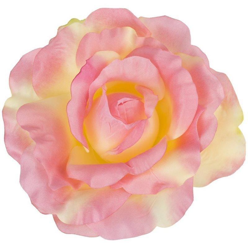 Główka Róży Mega 1 szt. Krem/Róż