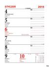 Kalendarz biurowy MINI MERKURIER B9 BESKIDY