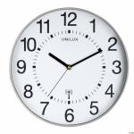 Zegar UNILUX WAVE 30.5 _ metaliczny SZARY