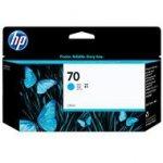 Tusz HP 70 Vivera do Designjet Z2100/5200   130 ml   cyan