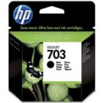 Tusz HP 703 do Deskjet Ink Advantage F730/735 | 600 str. | black
