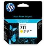 Tusz HP 711 do Designjet T120/520 | 29ml | yellow