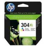 Tusz HP 304XL do Deskjet 3720/30/32   300 str.   CMY
