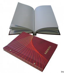 Kronika 250*345 100k/nadruk/ bordo 319-010/319-061