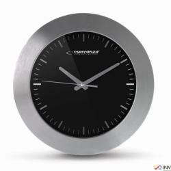 Zegar ścienny HOUSTON czarny EHC011K ESPERANZA
