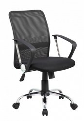 Fotel biurowy OFFICE PRODUCTS Lipsi, czarny