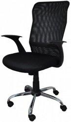 Fotel biurowy OFFICE PRODUCTS Rhodos, czarny