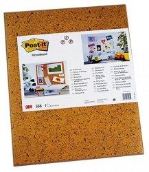 Tablica samoprzylepna POST-IT® (558), 585x460mm, jasnobrązowa