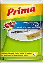 Ściereczki uniwersalne PRIMA Maxi Jak bawełna, 3szt., żółte