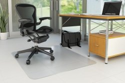 Mata pod krzesło Q-CONNECT, na podłogi twarde, 150x120cm, prostokątna