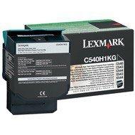 Kaseta z tonerem Lexmark do C-540/543/544/546 | zwrotny | 2 500 str | black
