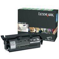 Kaseta z tonerem Lexmark do X-651/652/654/656 | zwrotny | 7 000 str. | black