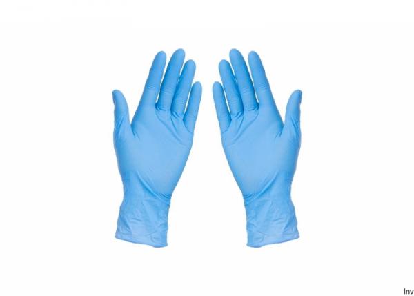Rękawice nitrylowe czarne XL ABENA (180) 8%VAT