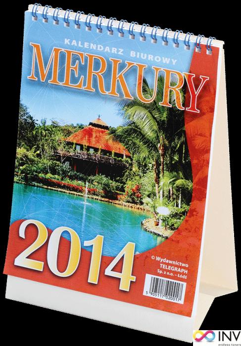 Kalendarz biurowy MERKURY (H5) 152 x 225 mm TELEGRAPH
