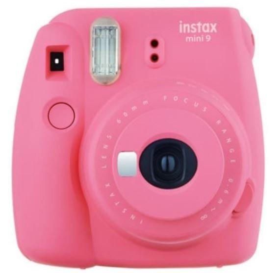Aparat Instax Mini 9 różowy + ramka + etui + album