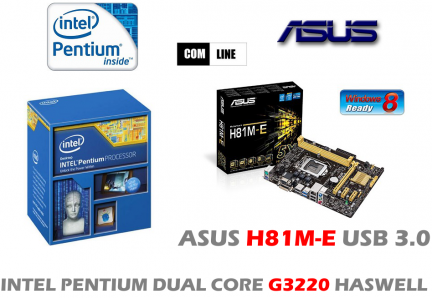 INTEL G3220 HASWELL ASUS H81M-E USB 3.0 4GB SIEDLCE