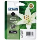 Tusz Epson T0591 do Stylus Photo R2400 | 13ml | photo black