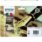 Tusz Epson T1636 XL do WF-2520NF/2530WF/2510WF |12.9(BK), 3 x 6.5ml(COL) | CMYK