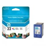 Tusz HP No 22 kolor C9352A poj. 5ml do DeskJet 3940 / DeskJet  3920 / PSC 1410
