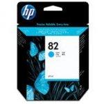 Tusz HP 82 do Designjet 100/200/500/510/800 | 69 ml | cyan