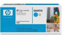 Toner HP Q6001A cyan do CLJ 1600 / 2600 / 2600N / 2605DN / 2605DTN / CM1015 / CM1017 / na 2 tys. str.